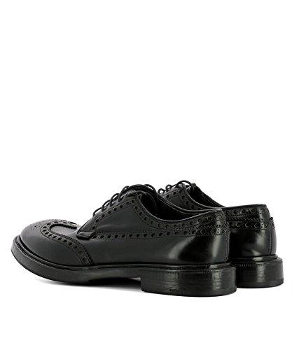 PREMIATA Men's 30969IDRIALNERO Black Leather Loafers qcyi9