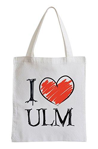 Amo Ulm Fun sacchetto di iuta