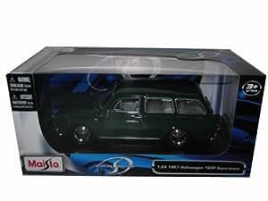1967 Volkswagen 1600 Squareback [Maisto 31288], Verde, 1:24 Die Cast