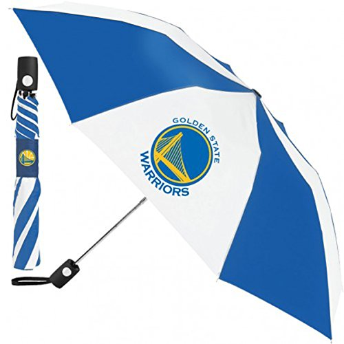 WinCraft NBA Golden State Warriors Automatic Umbrella 42 inches by WinCraft