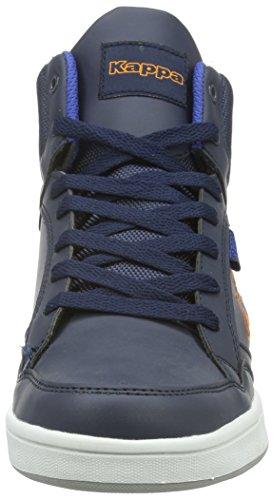 Kappa Unisex-Erwachsene Forward High-Top Blau (6744 navy/orange)