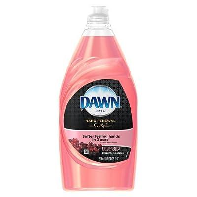 Dawn Hand Renewal Dishwashing Liquid Dish Soap, with Pomegranate Splash, 28 Fl Oz per Bottle Set of 6