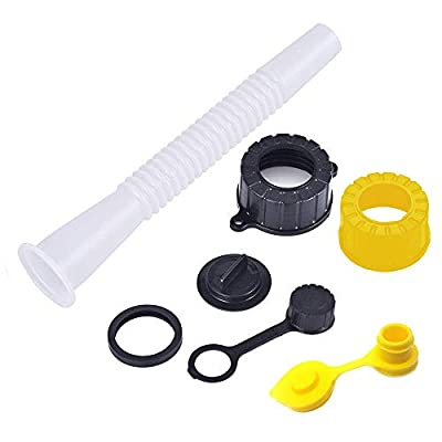 Super Spout Universal Gas Can Spout Replacement Kit, Fits Most Cans, Blitz, Scepter, 5 Gallon Old Style Gas Cans, Universal Nozzles, Caps, and Vents: Automotive