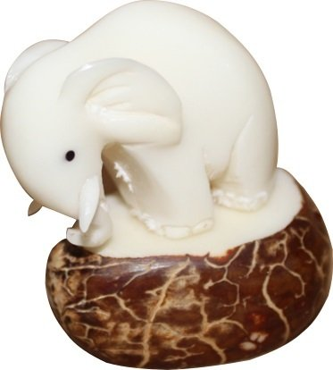 handmade-tagua-nut-carving-collectible-elephant