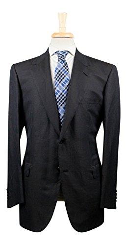 brioni Palatino 22 Black Linen Blend 2 Button Sport Coat Size 54/44 reg (Suit Linen Brioni)