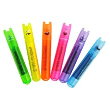 International Arrivals Mini Monsters Scented Markers, Set of 6 (130-24)