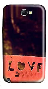 Samsung Note 2 Case Love Watermelon 1 3D Custom Samsung Note 2 Case Cover