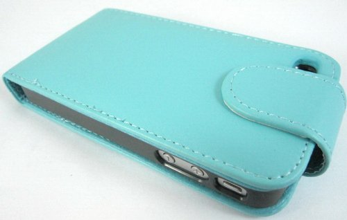 Super Best di Apple iPhone 5 Blue Light 5S copertura di vibrazione PU Custodia in pelle per Apple iPhone 5 5S G5GADGET®