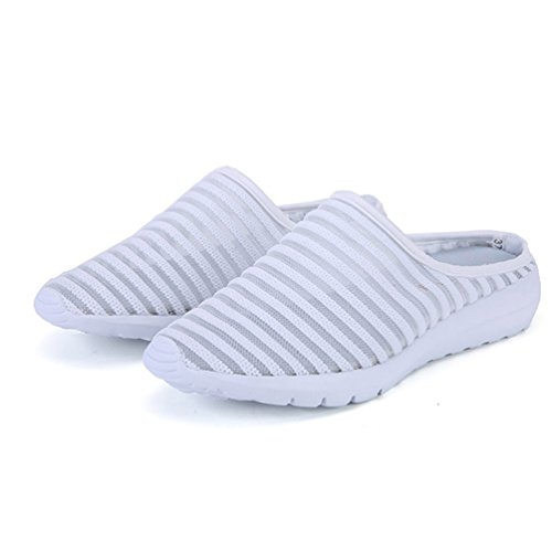 XHCHE Femme Chaussons Blanc XHCHE Chaussons r8YwpUqY0