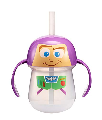 The First Years Disney/Pixar Toy Story Buzz Lightyear Straw Trainer, 7 -