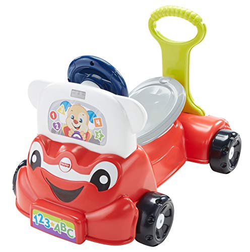 41O1 3t0GbL - Fisher-Price Laugh & Learn 3-in-1 Smart Car