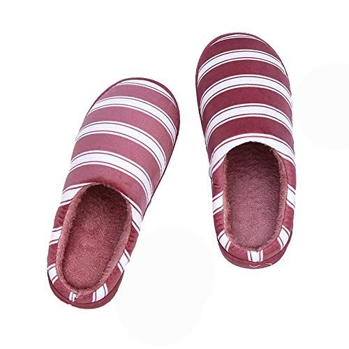 Cozy Red Non Unisex Home Warm Memory Slippers Shoes Indoor Slip 20 House Foam Slides HTwTaXxq