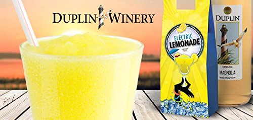 Duplin Winery Electric Lemonade Sweetzer Frozen Wine treat Gift Set, 1 x 750 mL