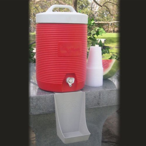The Beverage Butler Drip Catcher 4 Pack - Made in the USA - Versatile - Deflects Drips - Easily Able to be Stored - Easy to Clean - Easy to use by Beverage Butler