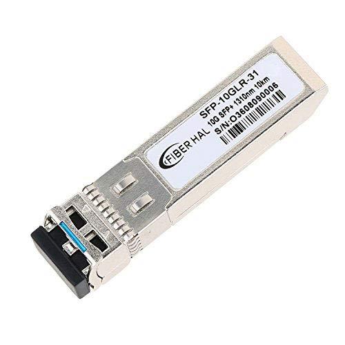FiberHal for Arista SFP-10G-LR, 10G SFP LR Module, SMF 10GBase-LR SFP Optic Transceiver,1310nm, Reach 10km