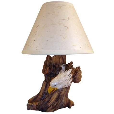 Vc Table Lamp (Eagle & Stump Night Lamp)