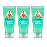 Johnson's No More Tangles Tear Free Toddler & Kids Detangling Conditioner, Paraben Free, 6.8 fl. Oz (Pack of 3)