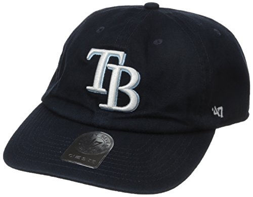 '47 Tampa Bay Rays Brand Cleanup Adjustable Hat (Tampa Rays Bay Clothes Devil)
