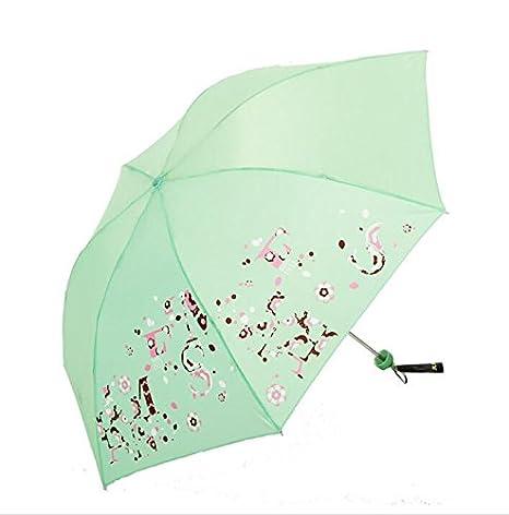paraguas Gaomi impermeable ligero a prueba de viento de acero de hueso de Sandue Liquidación Umbrella