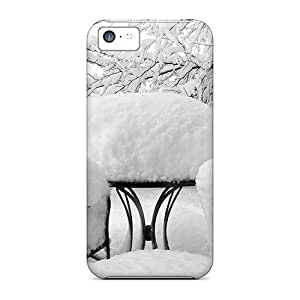 Maria N Young Scratch-free Phone Case For Iphone 5c- Retail Packaging - Cadeiras Com Neve