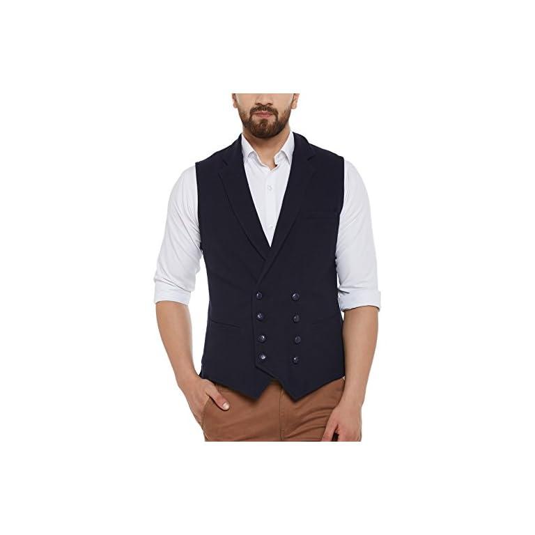 41O11LYZ9WL. SS768  - HYPERNATION Men's Nehru Jackets Waistcoat
