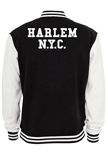 Harlem NYC College Vest Black