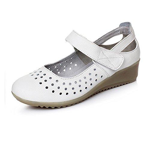 Enfermera Pendiente Con Sandalias Zapatos Zapatos Zapatos Modelos Hueco Blanco