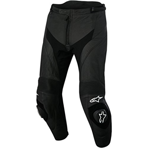 Alpinestars Missile Air Leather Men's Street Motorcycle Pants - Black 52