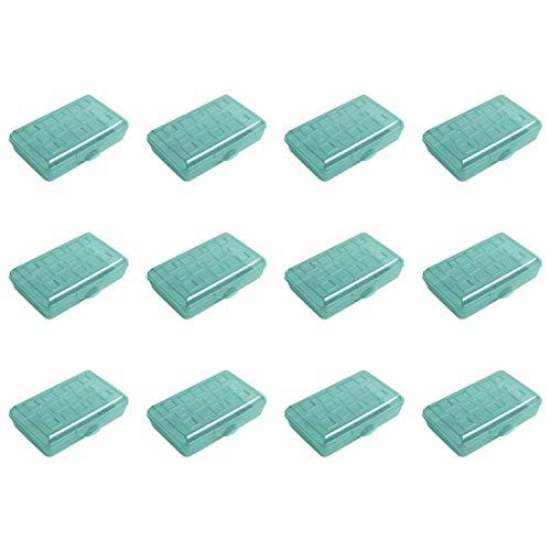 STERILITE 17226W12 Box, Pack of 12, Molokai Blue Tint, 12 Pack