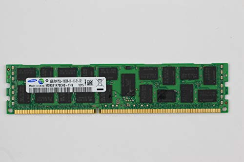 Samsung M393B1K70CH0-YH9 8GB PC3L-10600R DDR3-1333 ECC Registered  2RX4 Server  Memory