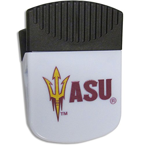 (Siskiyou NCAA Arizona State Sun Devils Chip Clip Magnet, White)