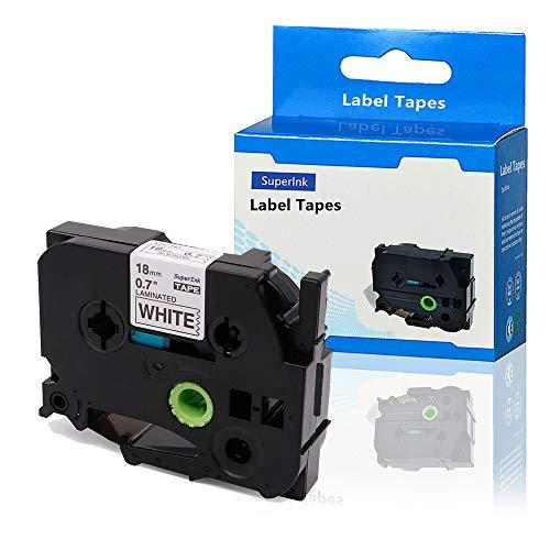 SuperInk 1PK Compatible for Brother TZ241 TZe241 TZ-241 TZe-241 Label Tape 3/4