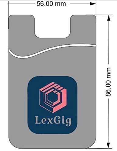 Amazon.com: Cartera de silicona para tarjeta de teléfono ...