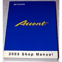 Amazon hyundai motor company books 2003 hyundai accent shop manual fandeluxe Image collections