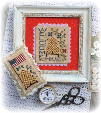 Welcome to The Hive Cross Stitch Chart