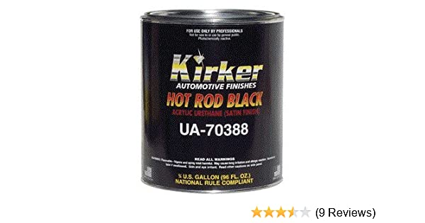 Amazon Com Kirker Hot Rod Black Acrylic Urethane Paint Kit Home