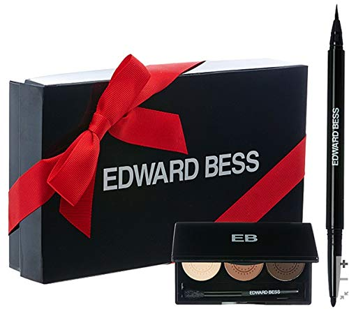 Edward Bess Expert Eye Edit Eyeshadow trio in Cocoa Sublime and Dual Precisionist Liquid Liner and Crayon Duo in Onyx