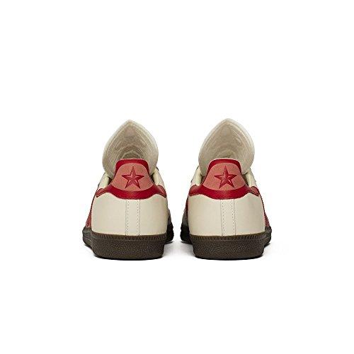 Samba 8 42⅔ Classic Red White 5 Beige Farbe Creme OG Größe Adidas pd7q0p