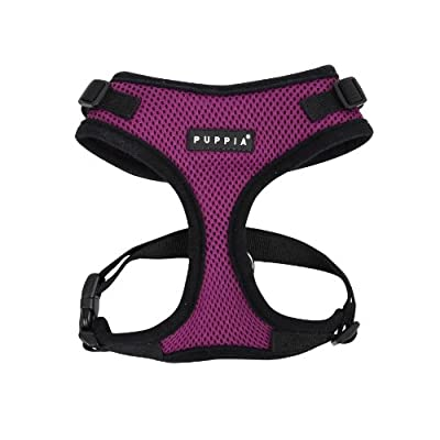 Puppia Authentic RiteFit Harness with Adjustable Neck from Puppia