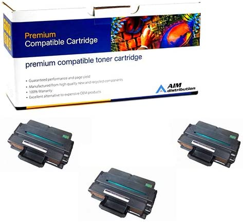 AIM Compatible Replacement for Dell B2375 Black High Yield Toner Cartridge 593-BBBJ3PK - Generic 3//PK-10000 Page Yield