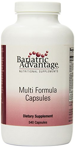 Bariatric Advantage - Multi-Form Capsules, 540 Count by Bariatric Advantage