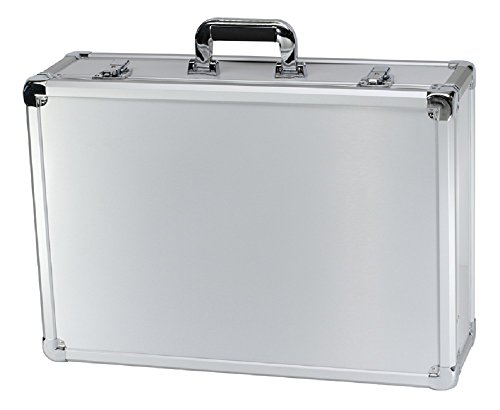 T.Z. Case International T.z Executive Series Aluminum Packaging Case 23 X 16 X 7-3/8 in, Silver - Executive Aluminum Case