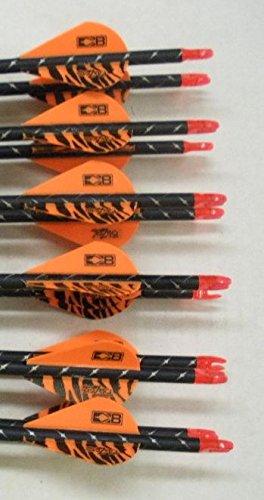 Easton ST Axis Full Metal Jacket Arrows 500 w/Blazer Vanes 1Dz.