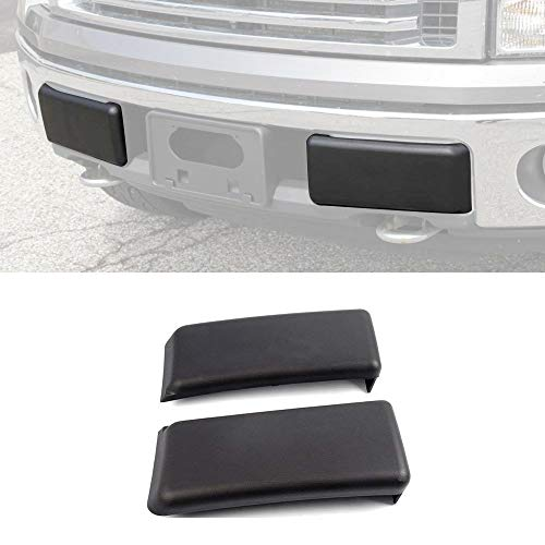 Winunite F150 Bumper Guard Pad Bumper Cap for Ford F-150 Super Crew 2009/2010/2011/2012/2013/2014 (NOT Compatible with Harley Davidson, SVT) by Winunite