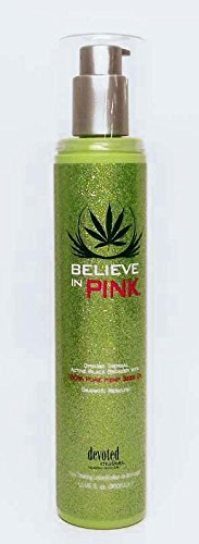 (Devoted Creations BELIEVE IN PINK Thermal Black Bronzer with Hemp Seed Oil - 10 oz.)