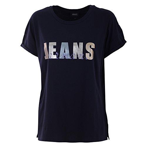 Armani Jeans Mujer 3Y5T075J14Z1576 Azul Algodon T-Shirt