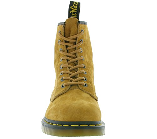Dr. Martens 1460 Soft Buck, Zapatos de Vestir Unisex Adulto Tan
