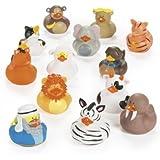 Noah's Ark Rubber Ducks - 25 pc set