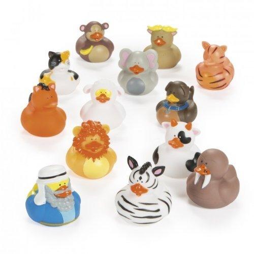 Noahs Ark Rubber Ducks 25 pc set Novelty Toys SG/_B00I8SD78I/_US
