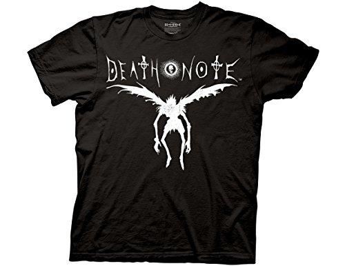 Ripple Junction Death Note Ryuk Silhouette Adult T-Shirt 2XL Black